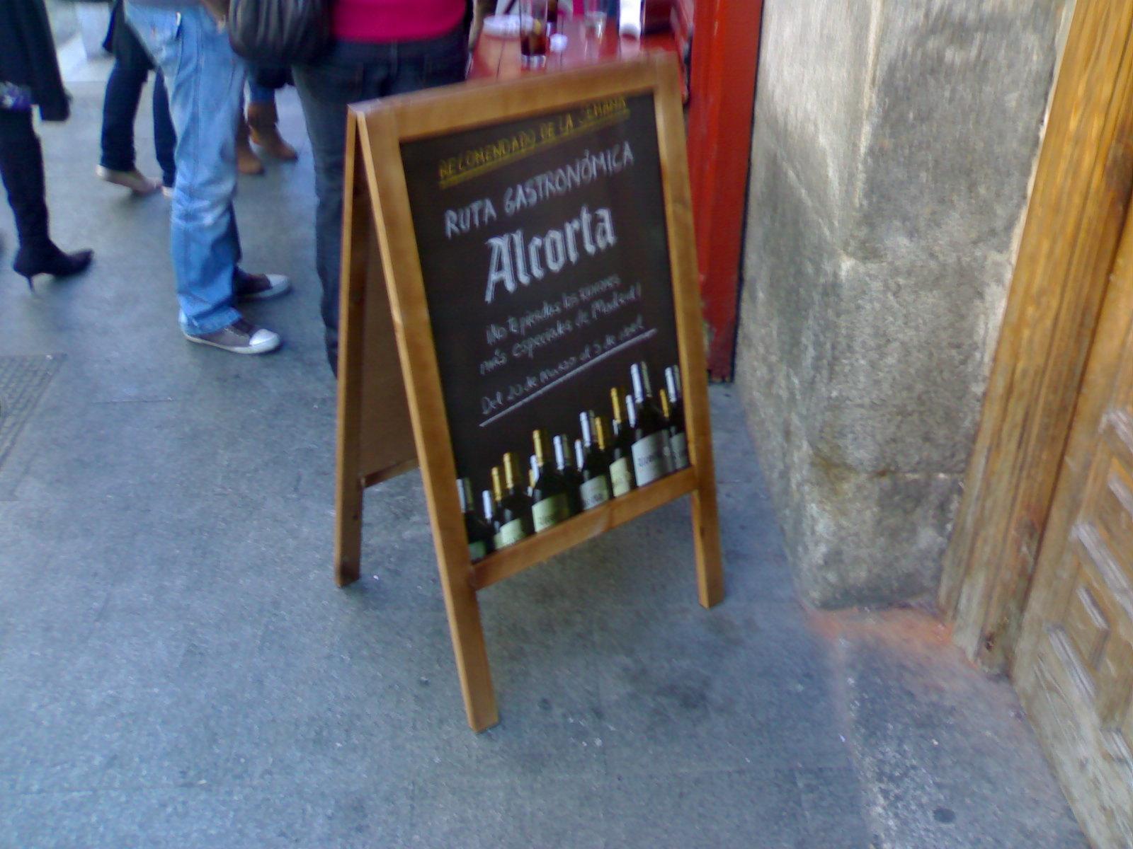 Promoción Horecas Alcorta