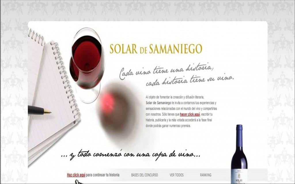 Campaña de Solar de Samaniego en www.elmundo.es