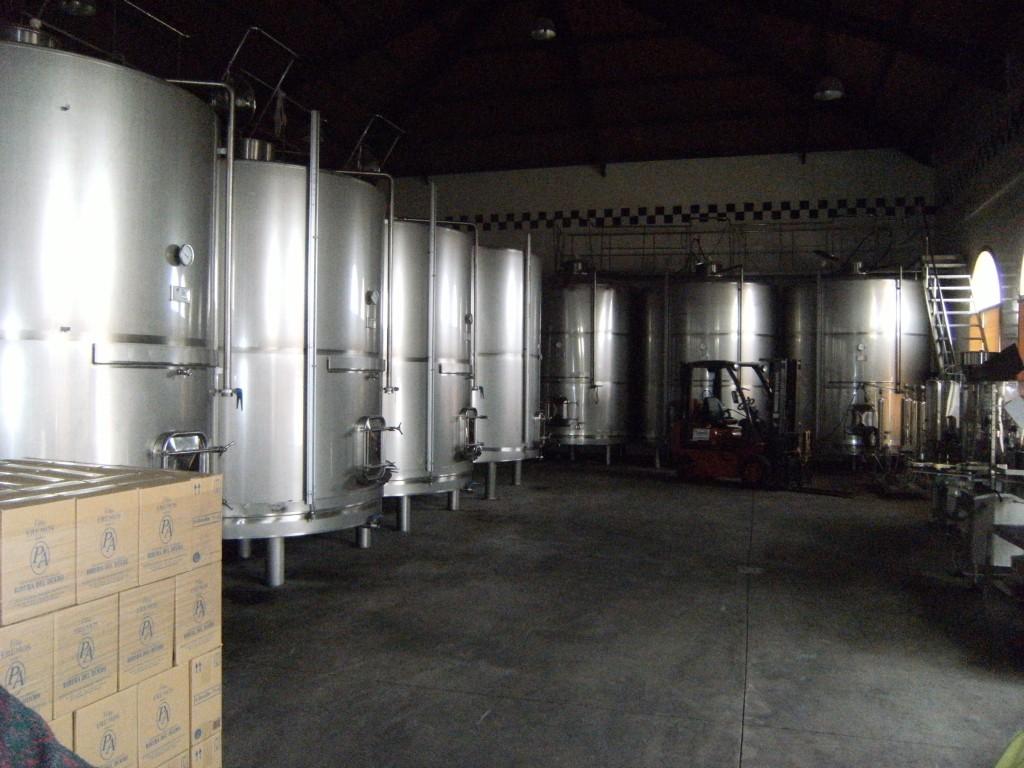 Sala de fermentadores