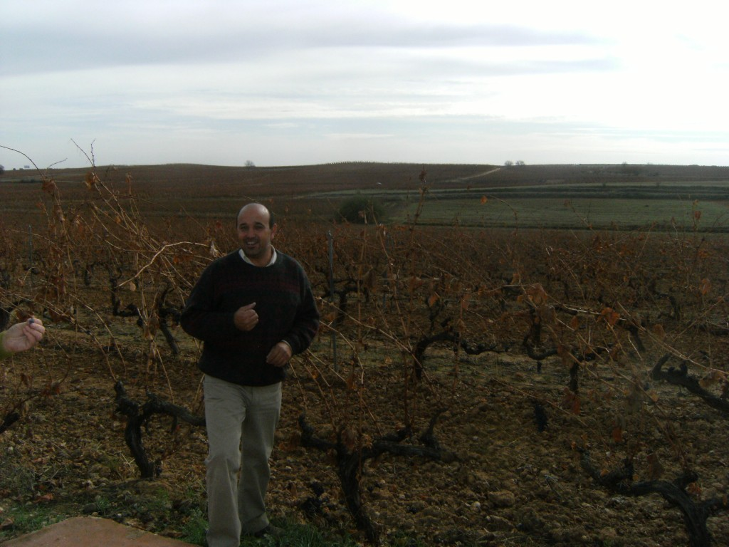 Alejandro Paramo vineyard walk