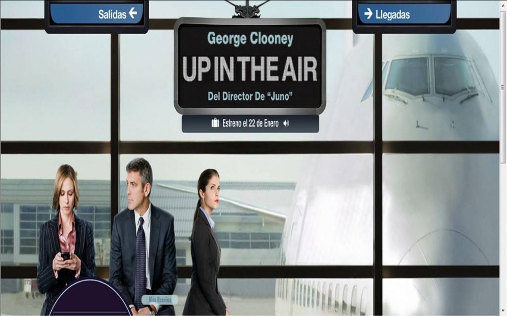 Up in the air. La tecnología al servicio de las personas