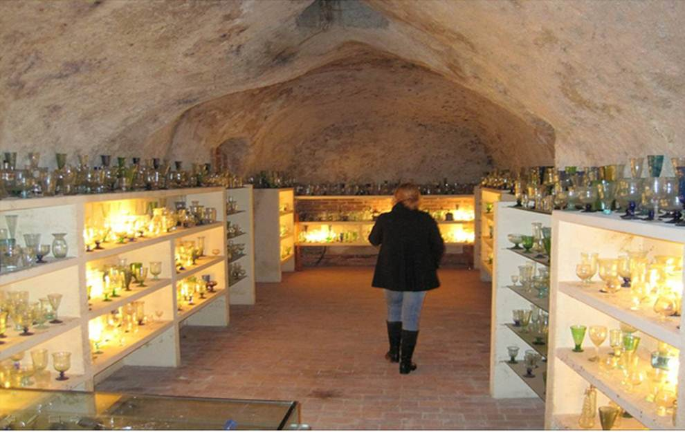 Colección de objetos de cristal de Bodegas Mocén