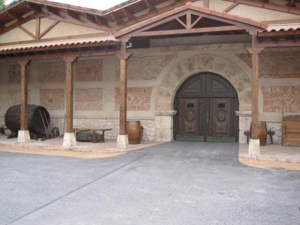 Entrada a Bodegas El Lagar de Isilla