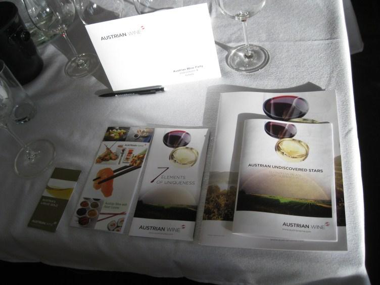 Presentación de Wines from Austria