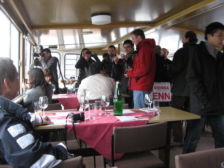 Navegando y catando vinos por el Danubio
