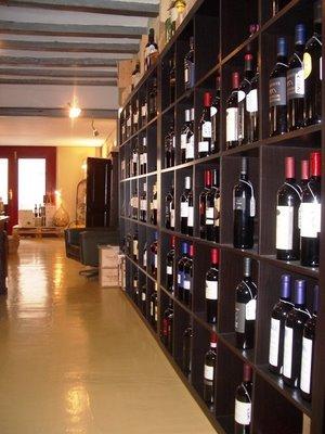 Distribución del vino