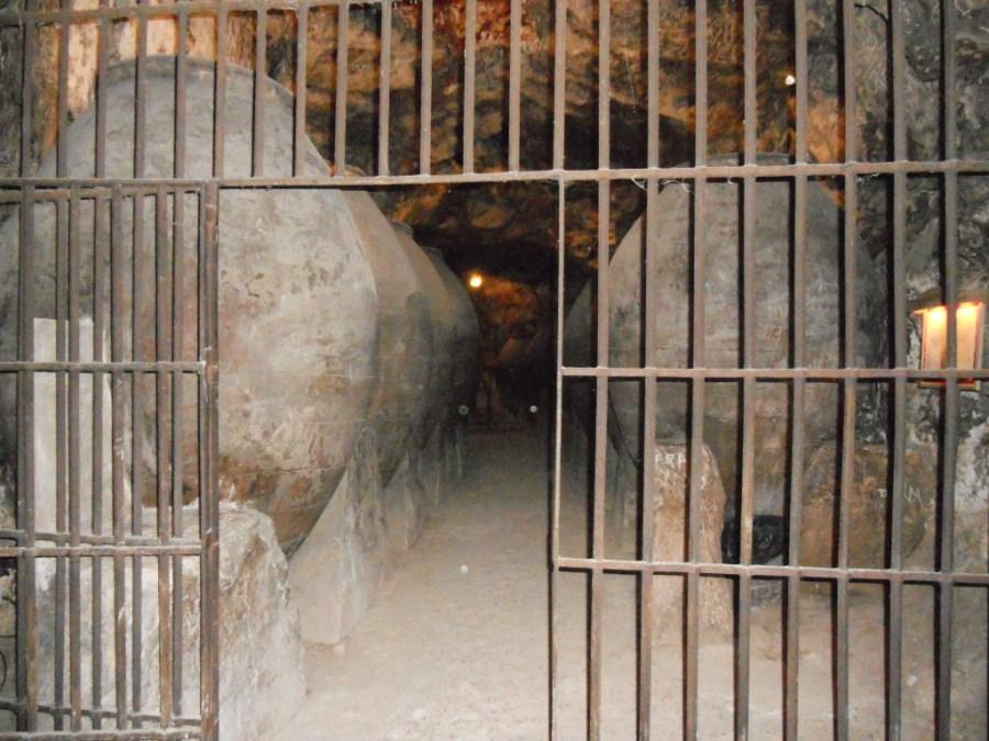 En las Cuevas del Vino de Chinchón