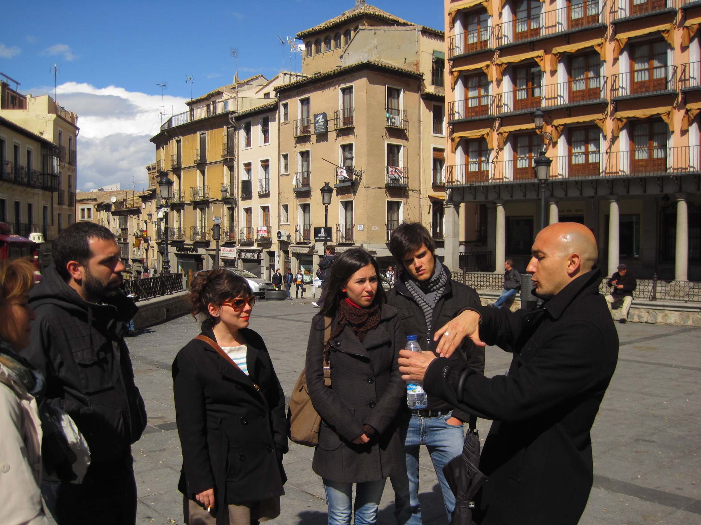 Visitando Toledo con Adolfo